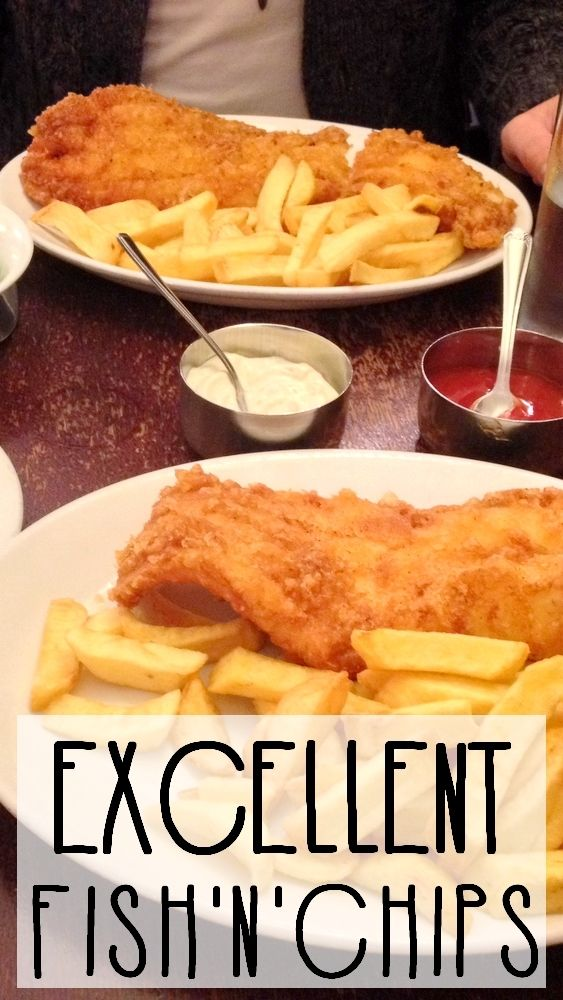 A great place to eat one of the best fish'n'chips in London!