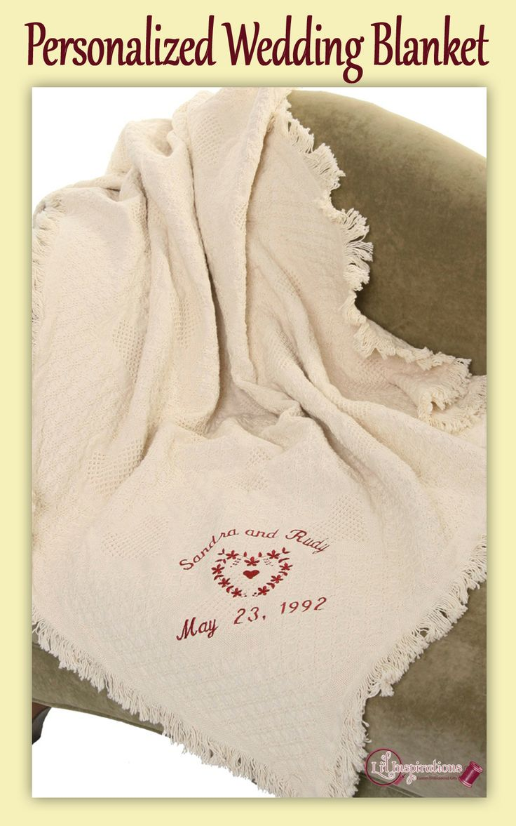 17 best images about personalized wedding blankets on