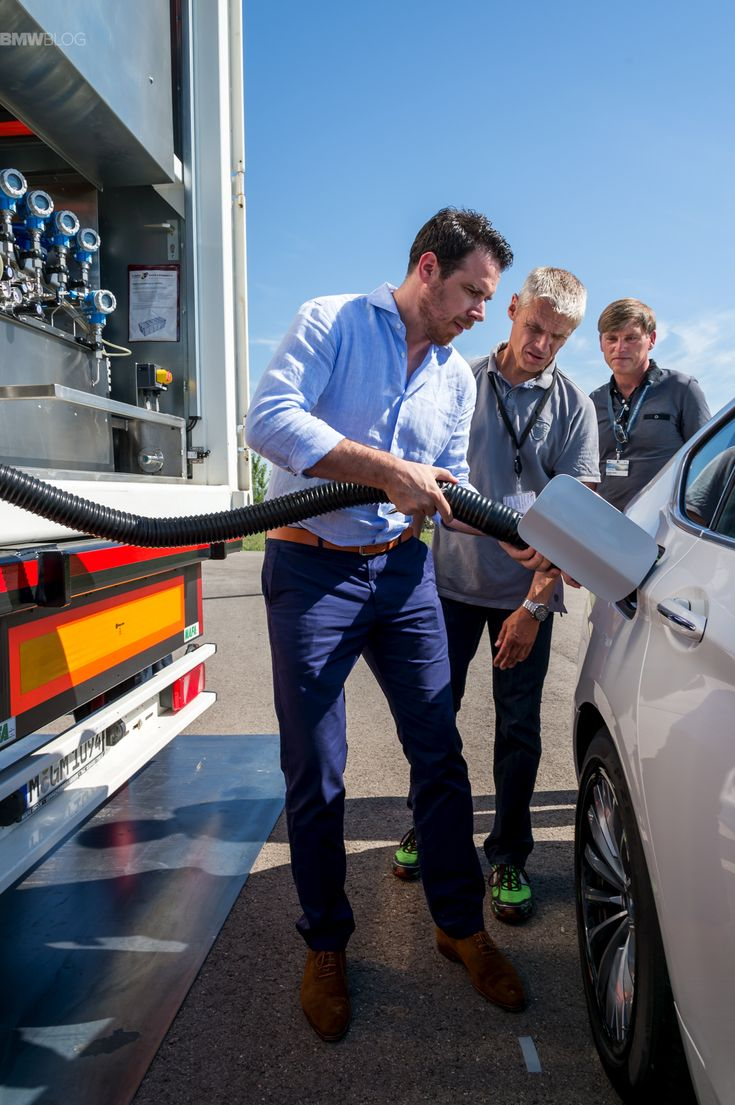 BMW Prototype with Hydrogen Fuel Cell – First Drive