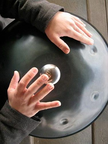 Hang Drum. These sound absolutely amazing and etherial! I am going to get one of these as soon as I have the spare cash!!
