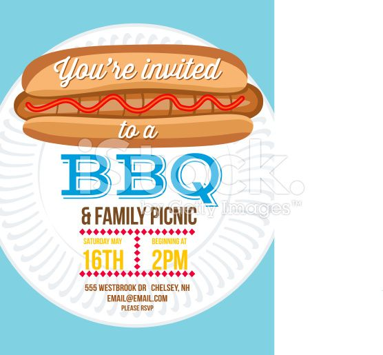 149 best BBQ Invitation Templates images on Pinterest Plaid - bbq invitation template