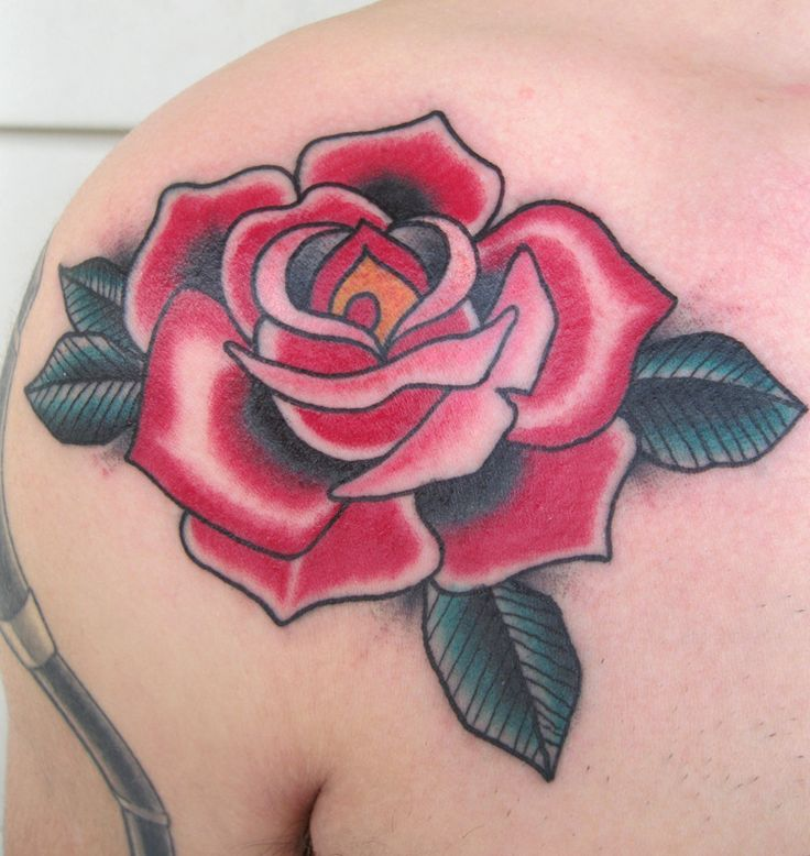 rose traditional tattoo - Google Search