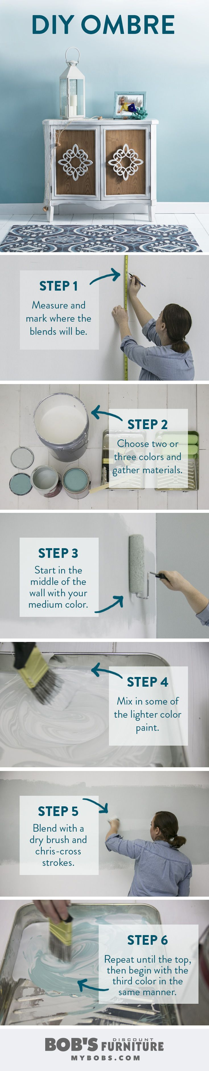 Ombre technique supplies and tips from sherwin williams - Best 25 Paint Techniques Wall Ideas On Pinterest Textured Painted Walls Wall Painting For Bedroom And Wall Painting Colors