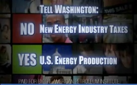 Exclusive: Since Election Day, Big Oil Lobby Dropped $3 Million On Ads To Protect Its Tax Loopholes