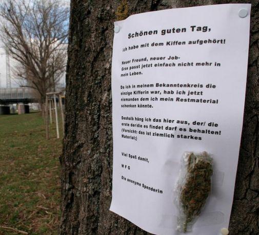 Aufgehört zu kiffen – Das letzte Gras verschenken on http://www.drlima.net
