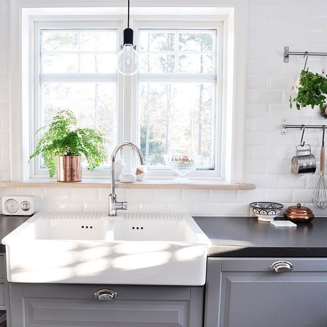 Lovely light kitchen