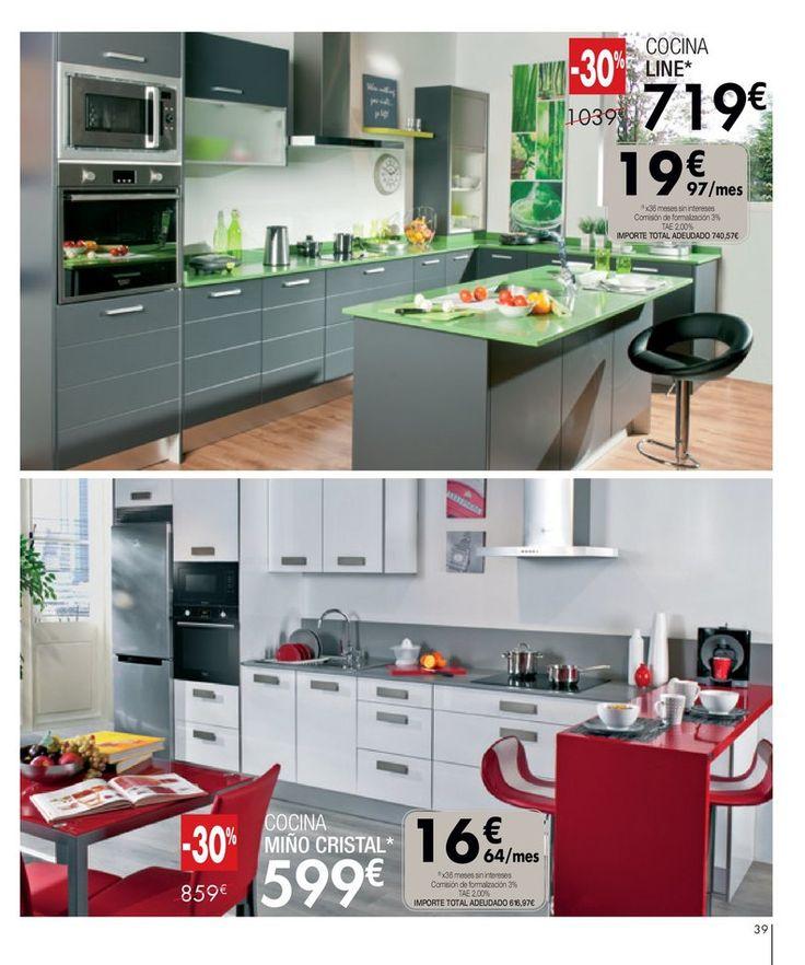 M s de 25 ideas incre bles sobre cocinas conforama en - Cocinas conforama precios ...