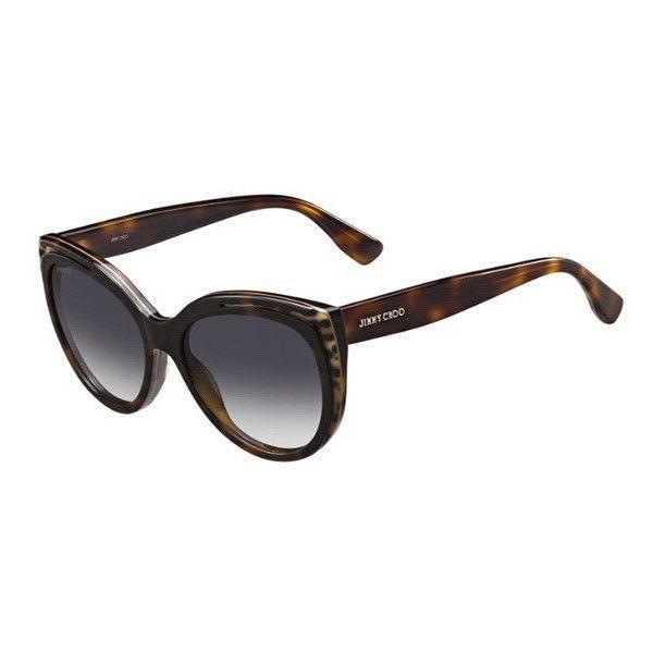 acb1629fbc9 Jimmy Choo Nicky S PUU 9C Sunglasses ( 210) ❤ liked on Polyvore ...