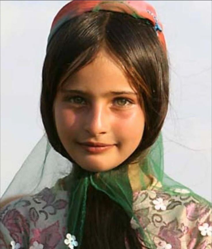 Bakhtiari girl, Iran