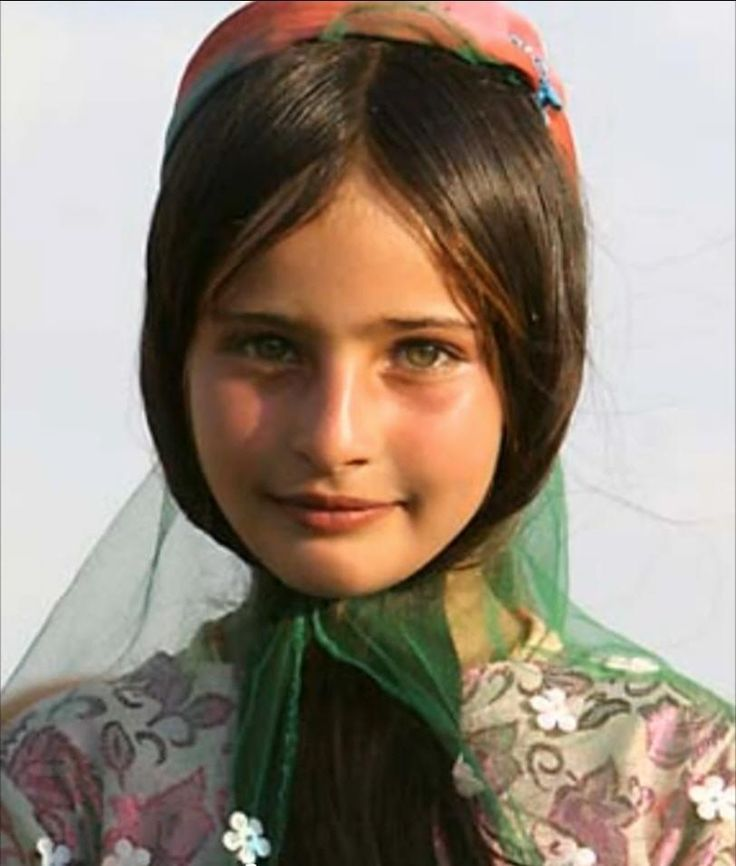 Kurdish girl :) Caucus Mountains :) She looks so much like me when I was a kid. People need to really look up what a true caucus person is ;)
