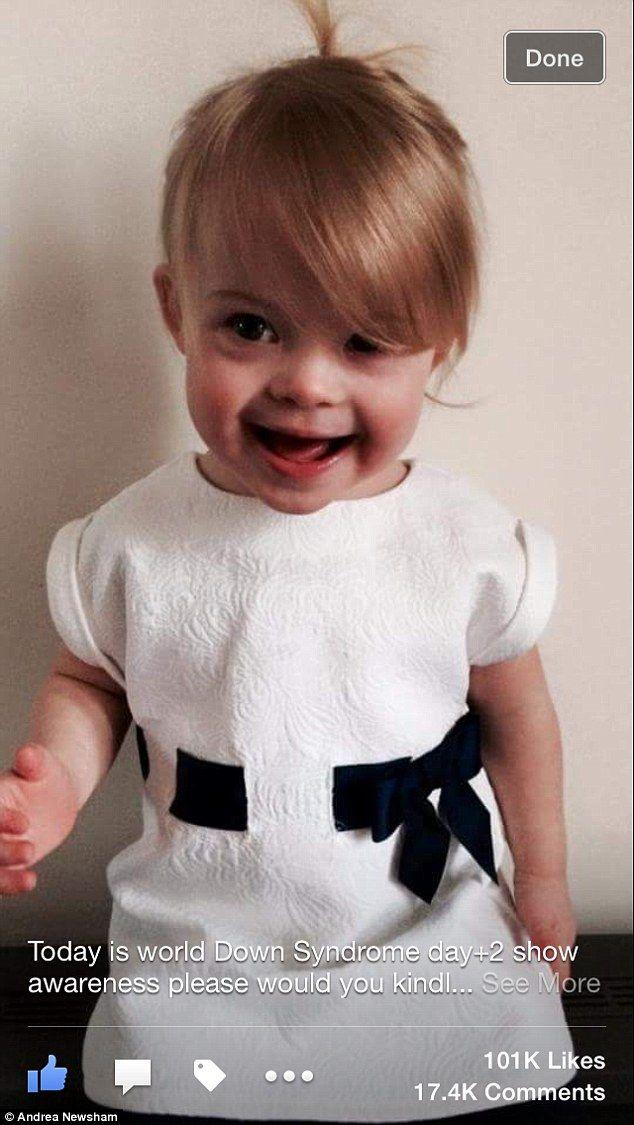 Millie Elizabeth, la niña modelo con Síndrome de Down