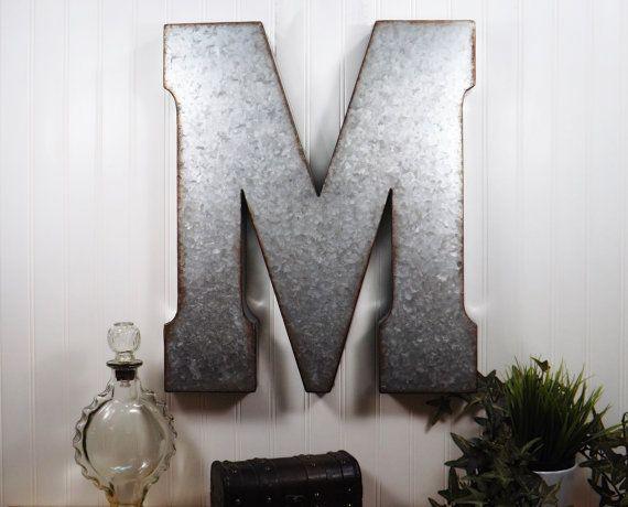 1 Inch Metal Letters Best 25 Large Metal Letters Ideas On Pinterest  Metal Letters .