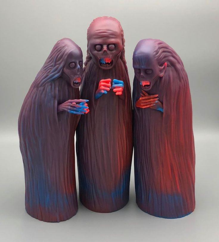 THREE WITCHES by UNBOX INDUSTRIES John Kenn Mortenson SOFUBI FIRST EDITION RARE #UNBOXINDUSTRIES