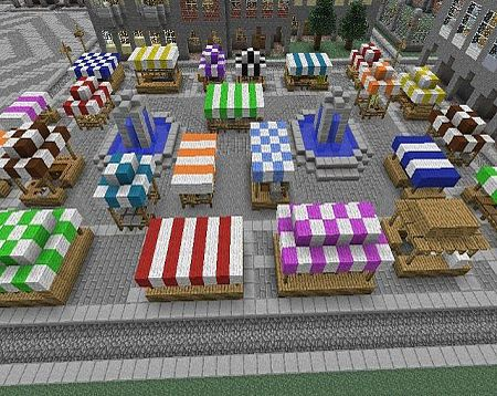 Minecraft marketplace-- hmm, could trap villagers in the booths!