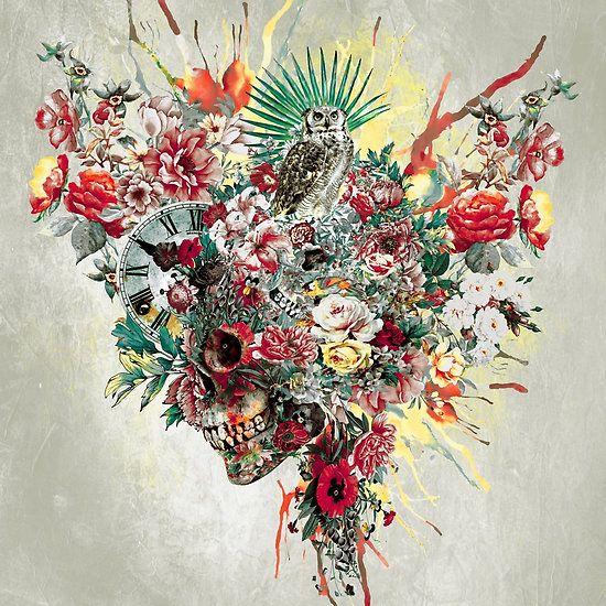 SKULL XIV #skull #digital #art