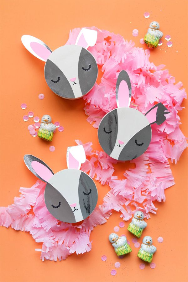 Adorable DIY Bunny Boxes For Easter! | Oh Happy Day! #easter #diy