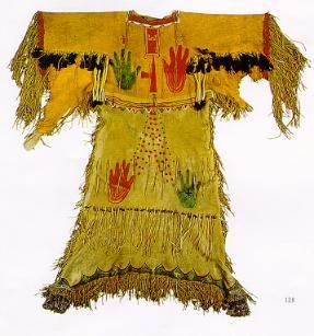 lakota sioux ghost dance dress, 1890
