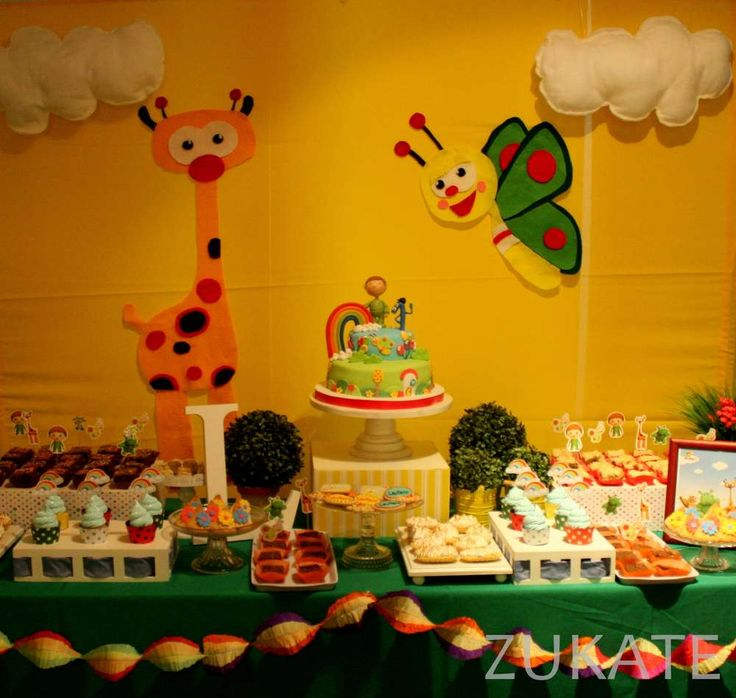 Lautaro´s Baby TV party | CatchMyParty.com