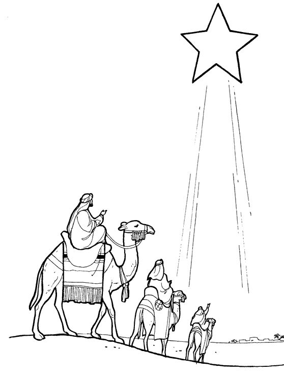 flight into egypt coloring pages - photo#22