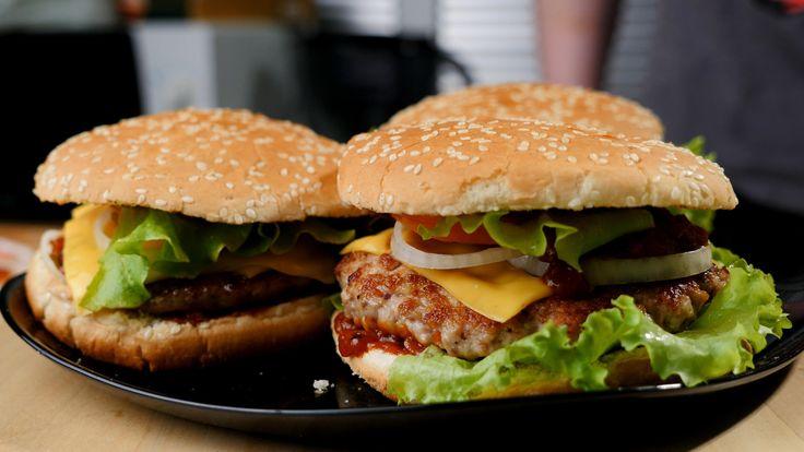 Рецепт божественного домашнего гамбургера