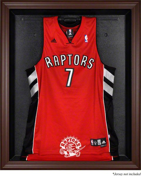 Toronto Raptors Framed Logo Jersey Display Case