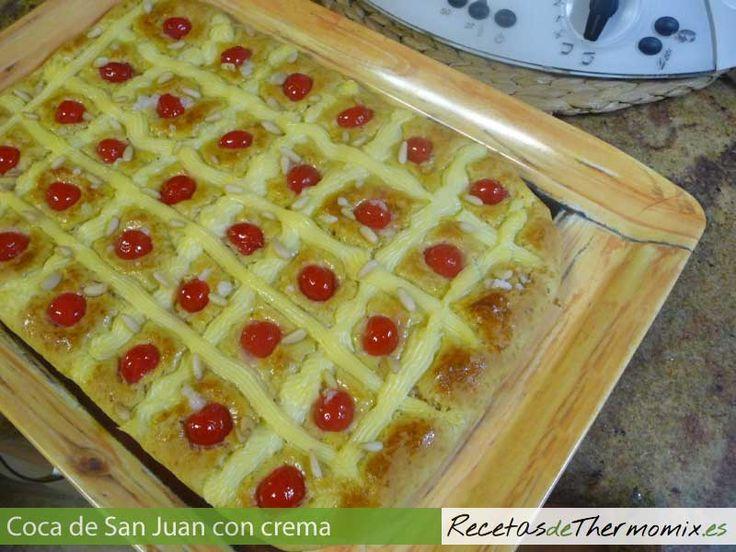 La coca de San Juan, es típica de Cataluña y se prepara para la festividad de…