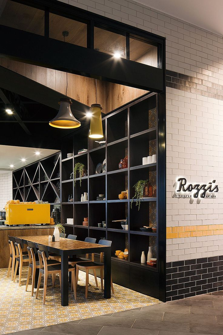 Rozzis Italian Canteen In Melbourne By Mim Design