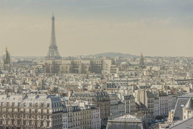 Sous le ciel de Paris règne un air de tabagisme passif - L'air de Paris est aussi dangereux que le tabagisme passif selon les résultats de l'étude de l'association Airparif...
