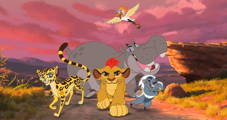 First Look: Watch a clip from Disney's The Lion Guard: http://di.sn/6019BGGOD