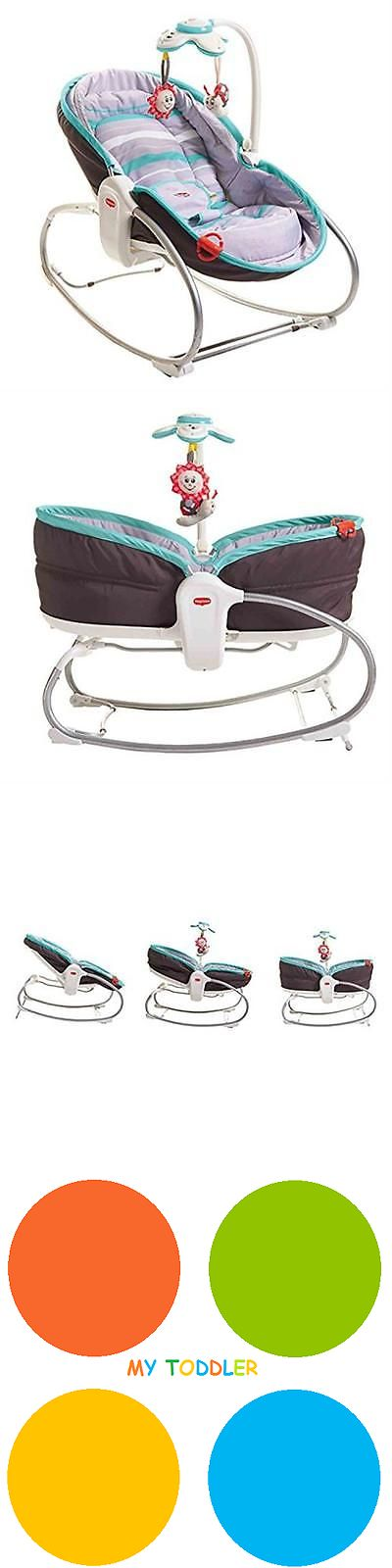 Bouncers and Vibrating Chairs 117034: Tiny Love 3-In-1 Rocker-Napper, Turquoise Mytoddler New -> BUY IT NOW ONLY: $96.93 on eBay!