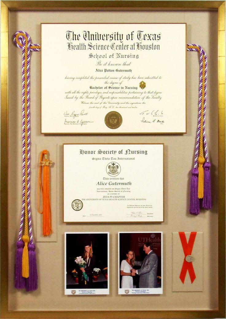 9 besten Diploma frame Bilder auf Pinterest | Diplom rahmen ...