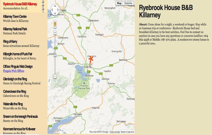ryebrookhouse bed and breakfast killarney