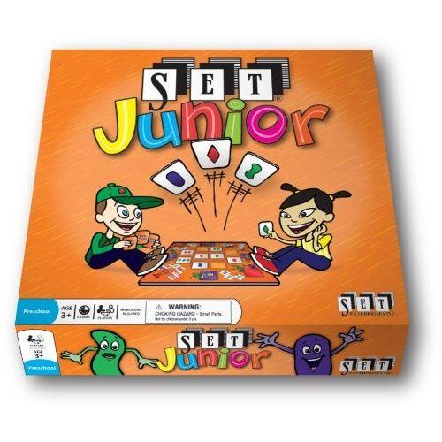 SET Junior, társas és kártyajáték 3 éves kortól - SET Enterprises