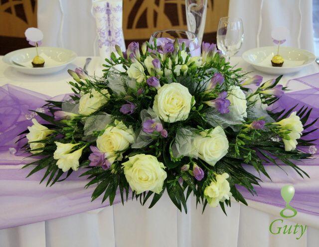 Flower wedding decor Kvetinová výzdoba svadobná