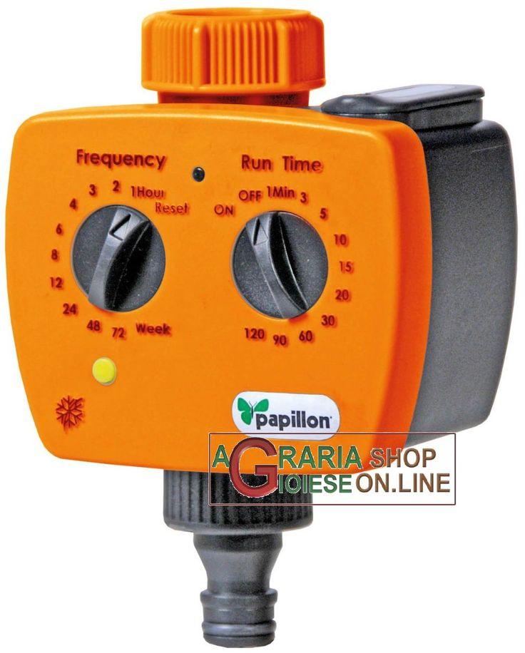 PAPILLON PROGRAMMATORE ELETTRONICO CENTRALINA PER IRRIGAZIONE https://www.chiaradecaria.it/it/centraline-per-irrigazione/13890-papillon-programmatore-elettronico-centralina-per-irrigazione-8000071931830.html