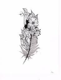 Afbeeldingsresultaat voor veer tattoo kleur
