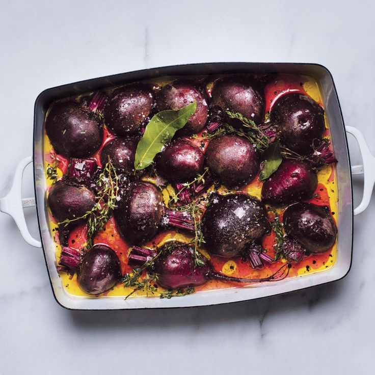This steam-roasting method (high heat, covered pan) is the best; the liquid prevents the beets from drying out.