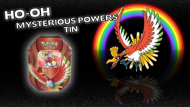 Opening A Pokemon Ho-oh GX Mysterious Powers Tin!