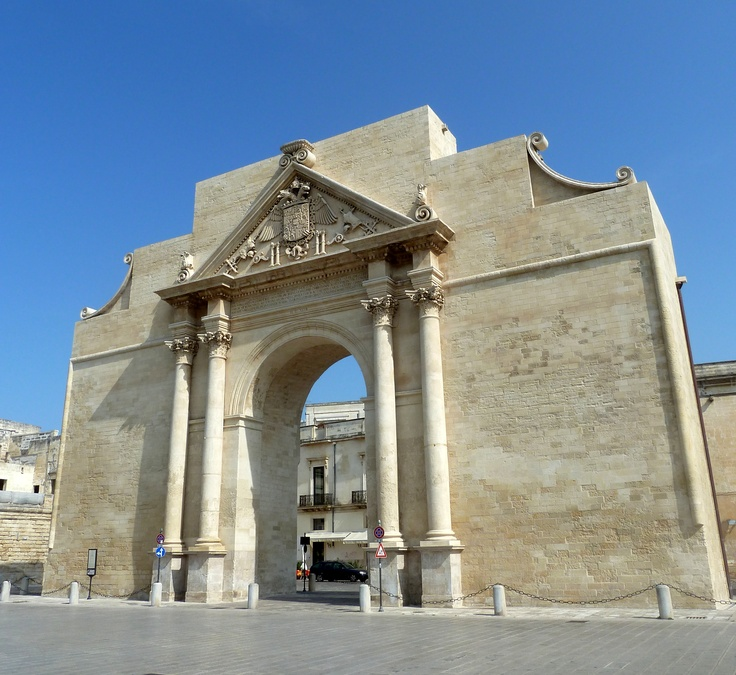 Porta Napoli, Lecce (Puglia, Italy)