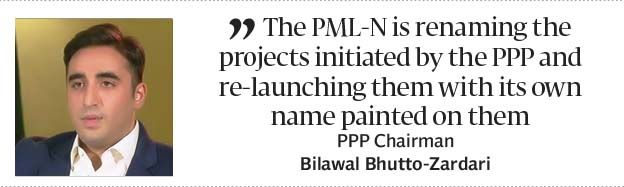Anti-people policies: Bilawal Bhutto fires a broadside at PML-N government - The Express Tribune