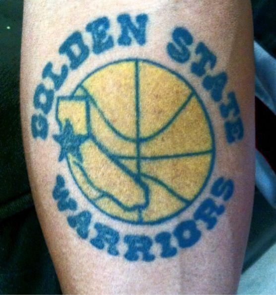 Golden State Warriors Tattoo | Fanatics | Pinterest ...