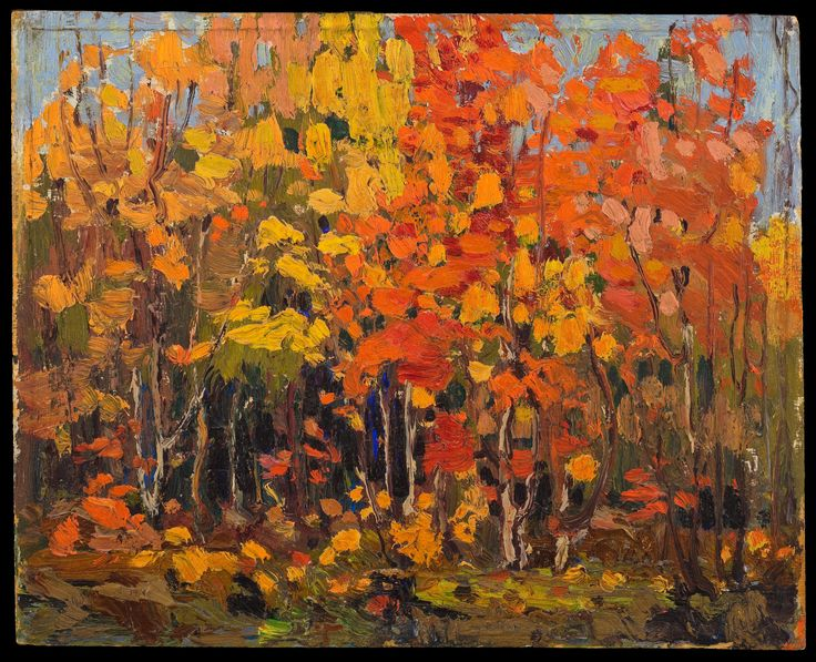 Tom Thomson Catalogue Raisonné | Autumn Woods, Fall 1915 (1915.89) | Catalogue entry