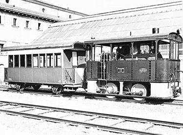 """ el gamba de legn "" linea Milano-Magenta -  locomotiva a vapore MMC-111 ('1912) - © Umberto Garbagnati -"