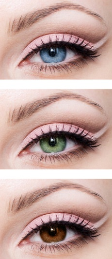 Rose shadow for every eye color Foto tutorial - Bella Donna