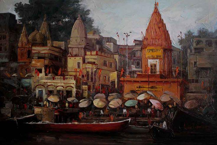 Iruvan Karunakaran Kashi. India. Om Namah Shivaya.