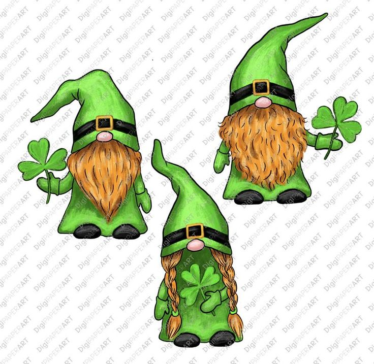 Download St. Patricks Day Gnome PNG Gnome Sublimation Design | Etsy ...