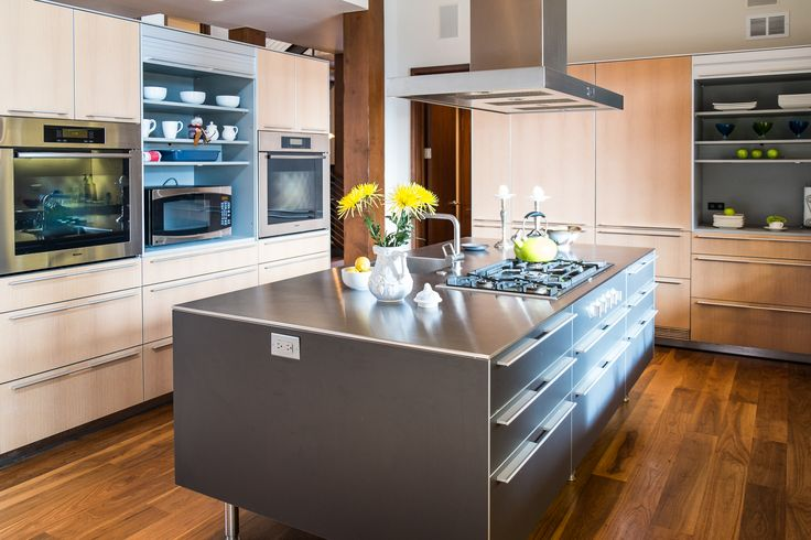 Custom Balthaup kitchen, bright and open. #VailHomes #VailRealEstate