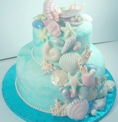 Ariel Birthday Sheet Cake