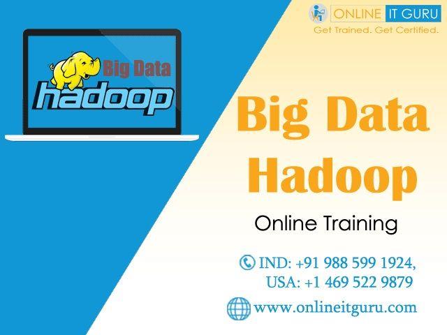 Big Data Hadoop Training | Education | Big data, Train
