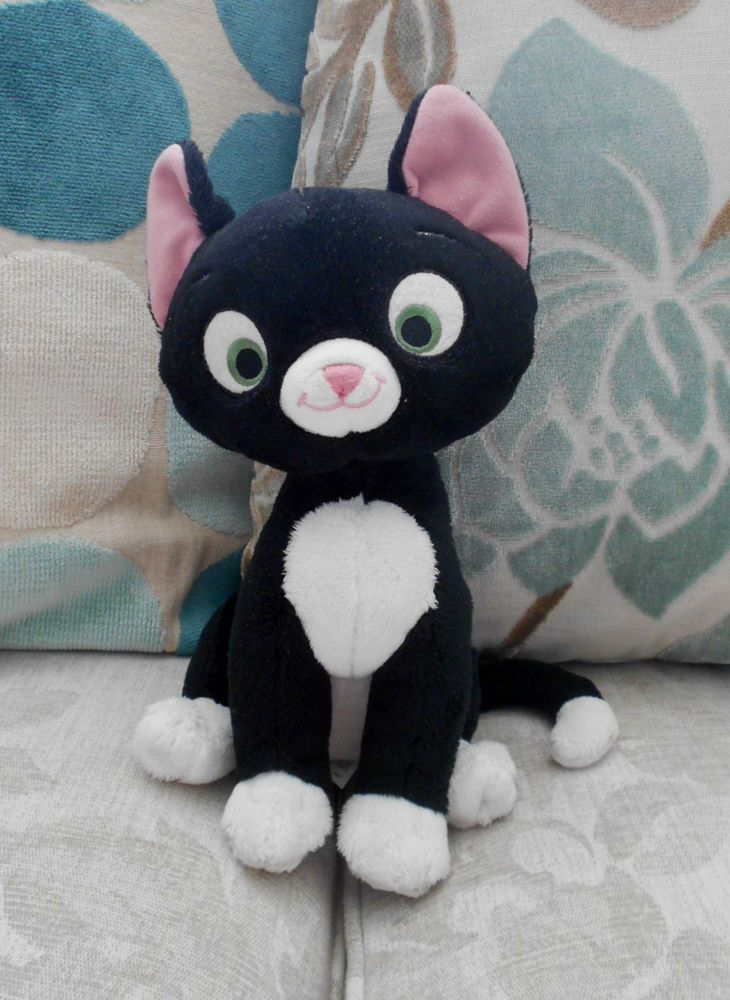 Mittens The Kitten Cat Character Plush Beanie Soft Toy
